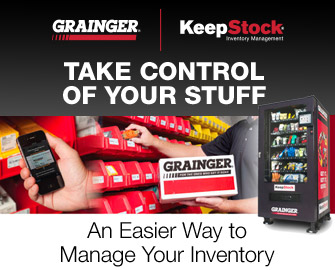 TAKE CONTROL OF YOUR STUFF | An Easier Way to Manage Your Inventory | GRAINGER | KeepStock Inventory Management