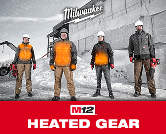 M12 HEATED GEAR FROM MILWAUKEE