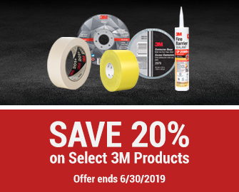 SAVE 20% on Select 3M Products - Offer ends June 30, 2019