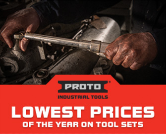 LOWEST PRICES OF THE YEAR ON TOOL SETS FROM PROTO INDUSTRIAL TOOLS