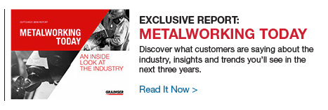 Exclusive Report: Metalworking Today | Read it Now.
