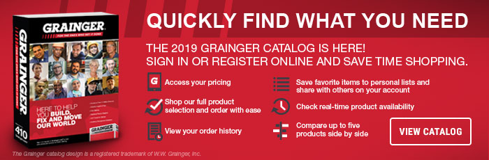 The New Grainger Catalog Is Here