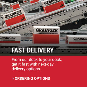 FAST DELIVERY |  From our dock to your dock, get it fast with next-day delivery options. | ORDERING OPTIONS