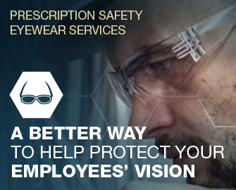 Prescription Safety Eyewear Services - A better way to help protect your Employees Vision