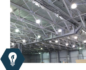 Lighting Retrofits & Upgrades: Interior and exterior LED lighting upgrades