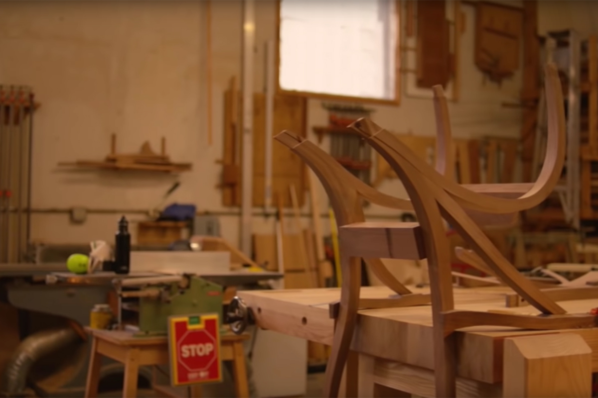 Grainger Everyday Heroes: Furniture Craftsman