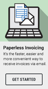 Its the faster, easier and more convenient way to receive invoices via email