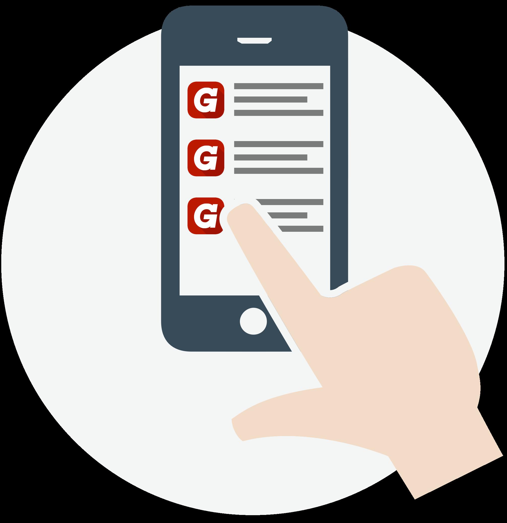 Track orders using Grainger App