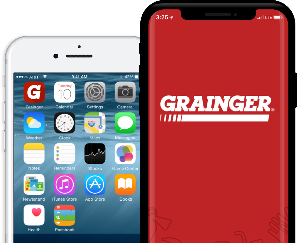 Grainger App Design