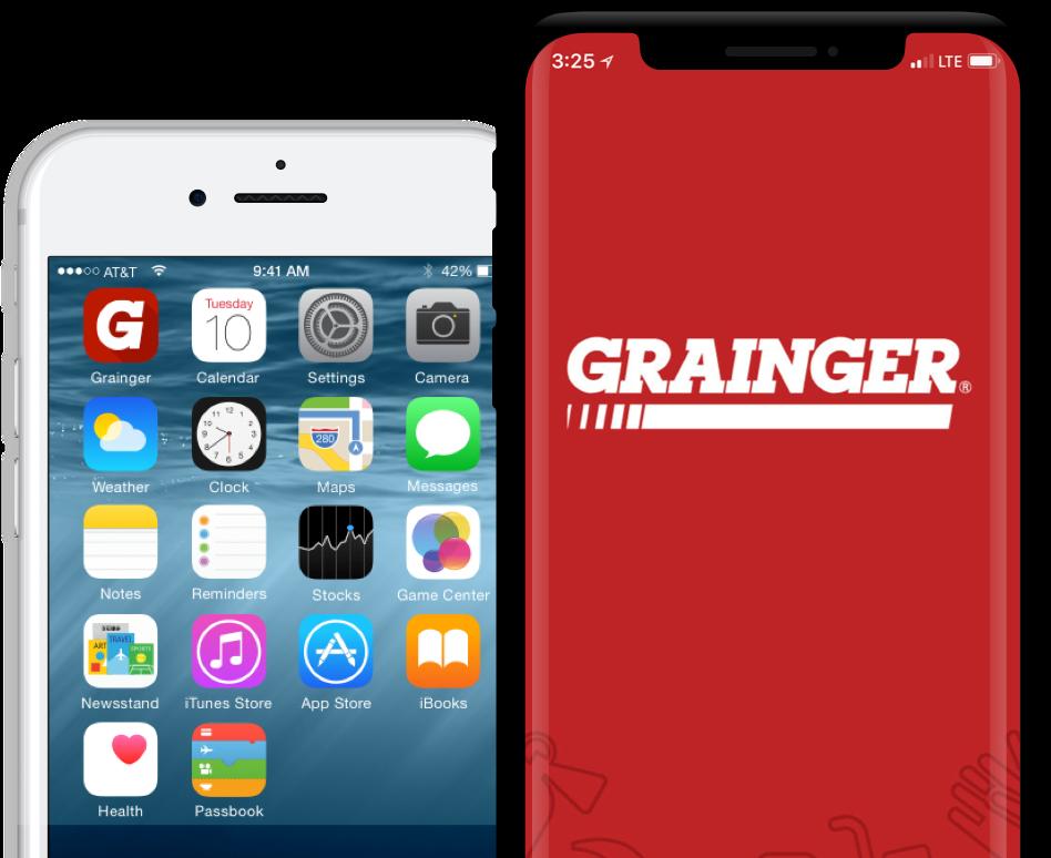 Grainger App Design
