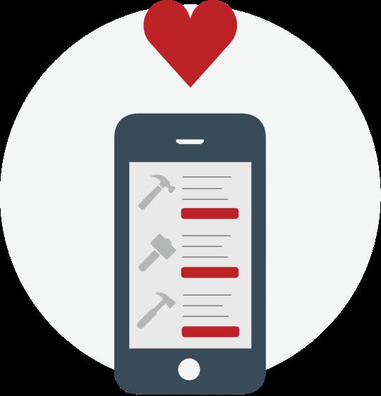 Grainger Mobile Location-Based Lists